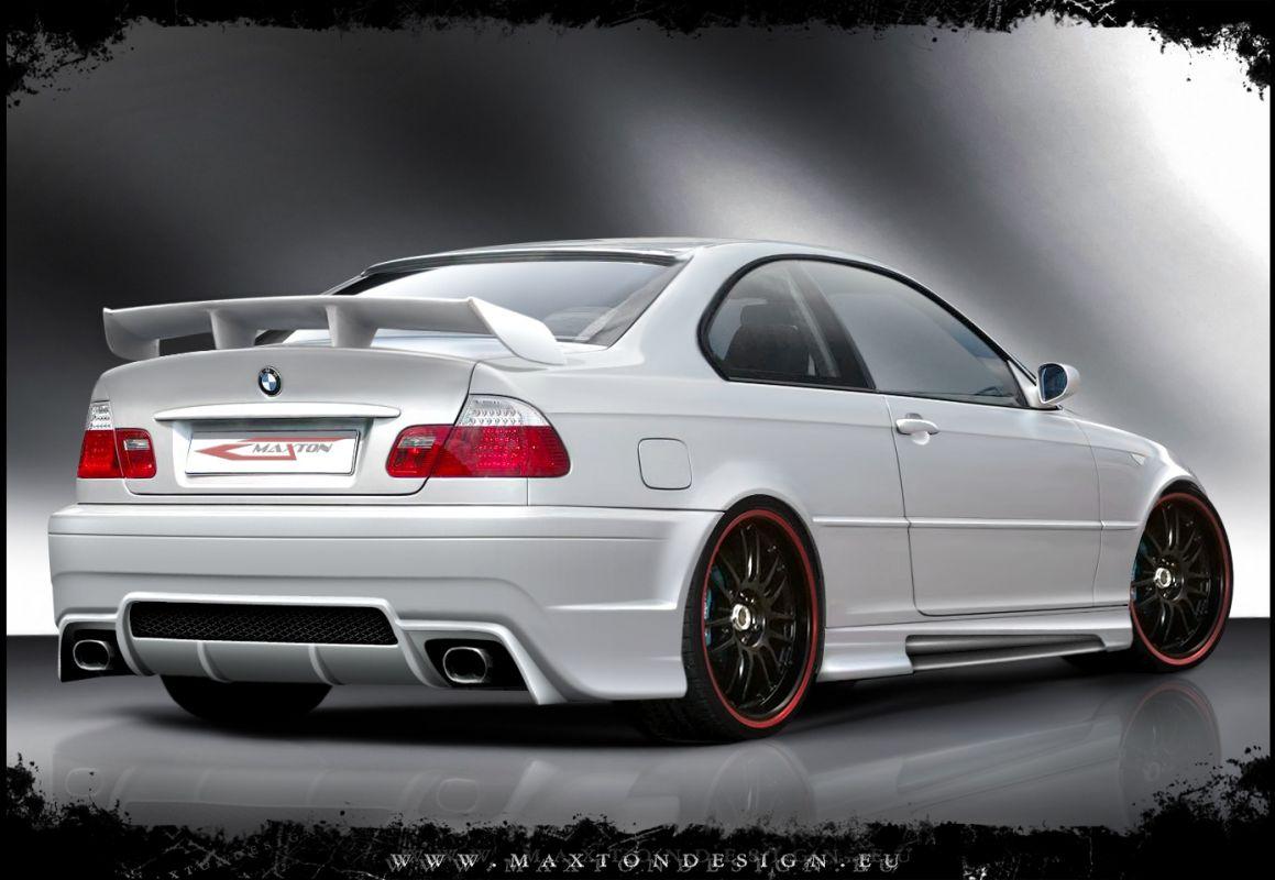 Zadní nárazník BMW 3 E46 Coupe & Cabrio version 1998 - 2007 Maxtondesign
