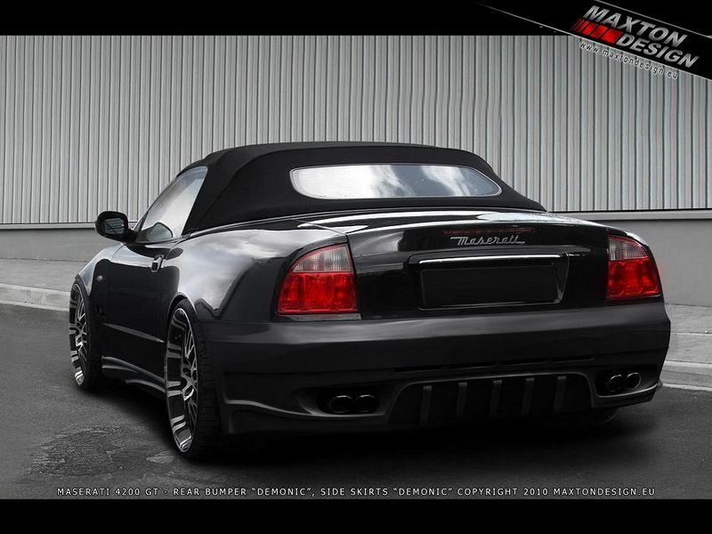 Maxtondesign Zadní nárazník MASERATI 4200 GT SPYDER / coupe