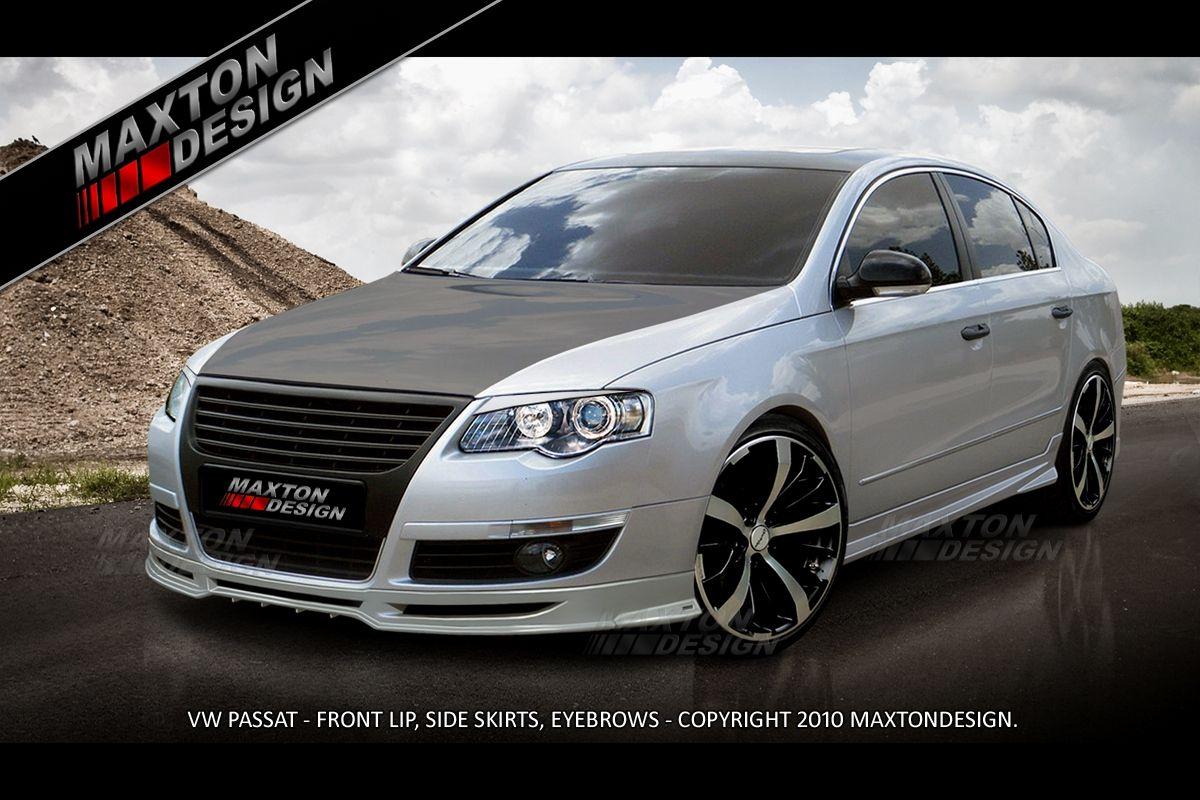 Maxtondesign Přední spoiler nárazníku VW PASSAT B6 3C