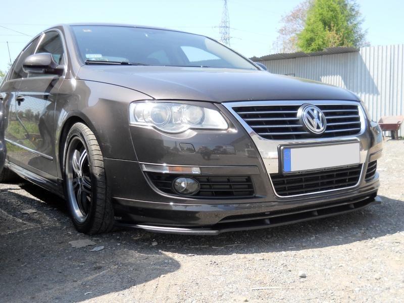 Maxtondesign Přední spoiler nárazníku VW PASSAT B6 (pro nárazník VOTEX)