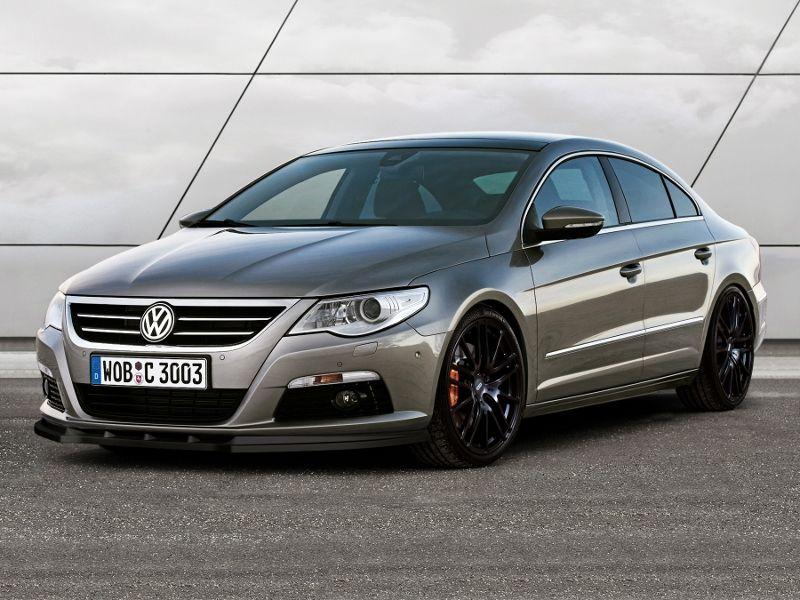 Maxtondesign Přední spoiler nárazníku VW PASSAT CC před faceliftem (pro standart. nárazník)
