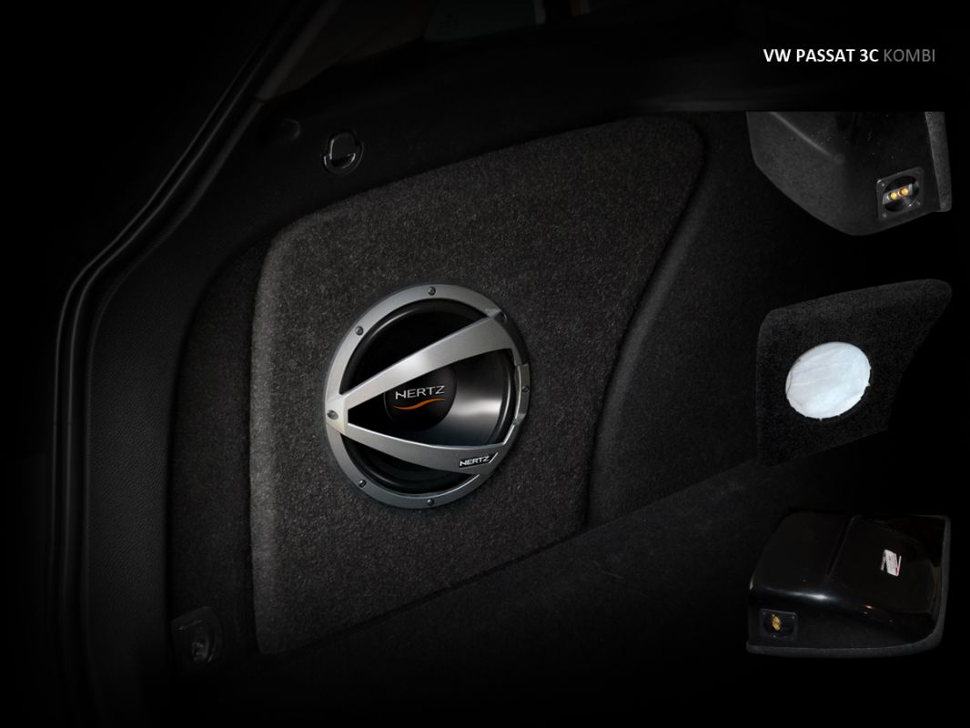 Maxtondesign Subwoofer Box VW PASSAT 3C combi