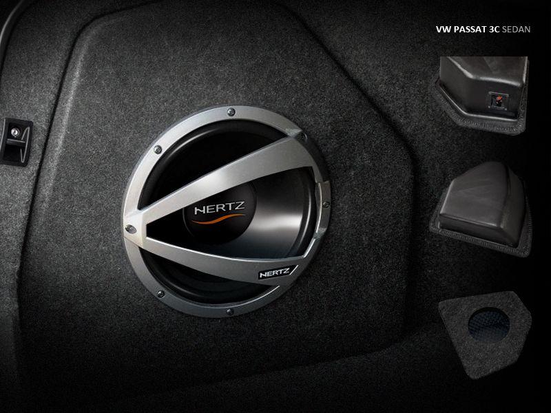 Maxtondesign Subwoofer Box VW PASSAT 3C sedan