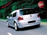 Zadní difuzor nárazníku VW GOLF IV 97-05 - EXTENSION (bez výřezu pro výfuk)