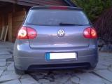 Zadní difuzor nárazníku VW GOLF V GTI EDITION 30 (bez výřezu pro výfuk, pasuje p