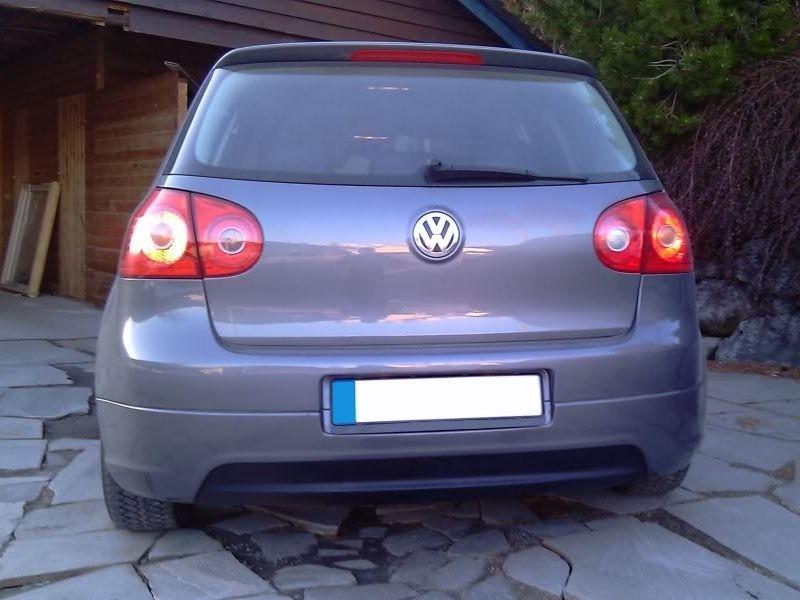 Maxtondesign Zadní difuzor nárazníku VW GOLF V GTI EDITION 30 (bez výřezu pro výfuk, pasuje p