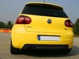 Zadní difuzor nárazníku VW GOLF V GTI EDITION 30 (s 1 výřezem pro výfuk, pro GTI