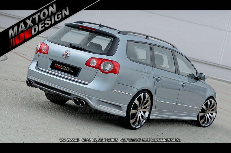 Maxtondesign Zadní nárazník VW PASSAT B6 3C combi - EXTENSION