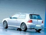 Zadní spoiler nárazníku VW GOLF IV 97-05 - EXTENSION (s výřezem pro výfuk)
