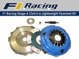 Spojkový set F1 Racing Stage 4 BMW E36 323/325/328i is/ic 2.3/2.5/2.8 V6 (92-99)