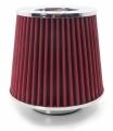 Sportovní filtr univerzální 76mm červený