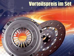 Sachs Performance Spojkový kit Sachs Race VW / Audi / Seat / Škoda 1.8T/TDI 6-st. 240mm