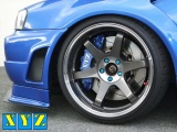 Přední brzdový kit XYZ Racing STREET 355 VOLKSWAGEN PASSAT (ne VR6) 88-96