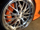 Přední brzdový kit XYZ Racing STREET 380 MERCEDES BENZ W204 C350 07-UP