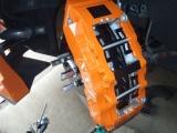 Přední brzdový kit XYZ Racing STREET 380 OPEL CALIBRA TURBO 2.0 92-97
