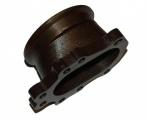 Adaptér na výfukovou část T25 5-děr. > V-band 76mm (litina)