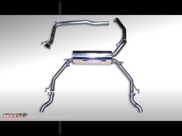 Milltek Sport Catback výfuk Milltek Honda Civic Type-R FN2 2.0i VTEC (07-12) - verze bez rezonátoru