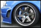 Přední brzdový kit XYZ Racing STREET 400 BMW E 34 525 88-96