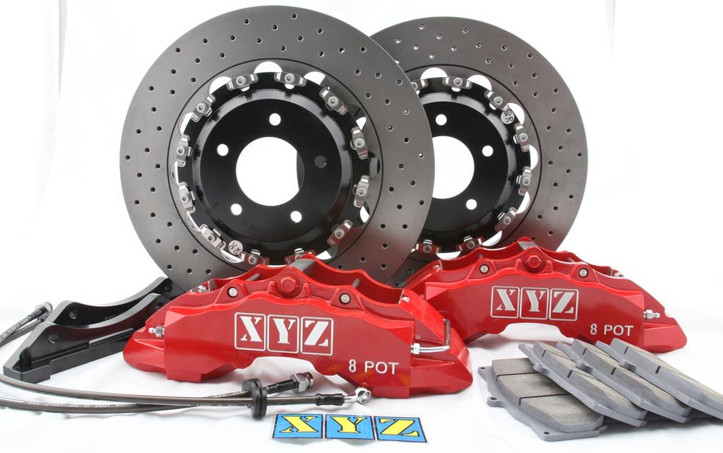 Přední brzdový kit XYZ Racing STREET 400 OPEL ZAFIRA OPC A 99-05