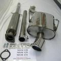 Catback výfuk Milltek Mini One Mk1 R50 1.6i (01-06) - koncovka leštěná