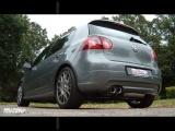 Catback výfuk Milltek VW Golf 5 GTi Edition 30 2.0 TFSI 230PS (06-09) - verze s rezonátorem (homologace)