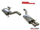 Catback výfuk Milltek VW Jetta 5 2.0T FSI (06-) - verze bez rezonátoru