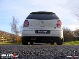 Catback výfuk Milltek VW Polo GTi 1.8T (06-) - verze bez rezonátoru