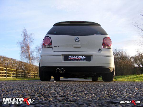 Milltek Sport Catback výfuk Milltek VW Polo GTi 1.8T (06-) - verze s rezonátorem