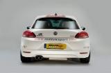 Catback výfuk Milltek VW Scirocco GT 2.0TSi 200PS (08-) - verze bez rezonátoru