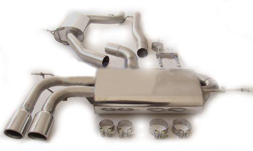Milltek Sport Catback výfuk Milltek Audi A3 8P 1.8 TSI 2WD 3-dv. (08-12) - verze s rezonátorem