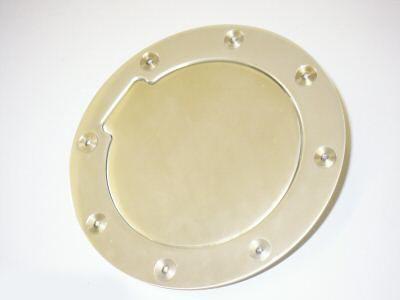 Hliníkové víko nádrže Jap Parts - chrome