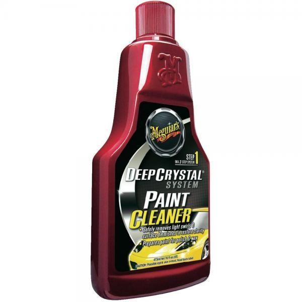 Meguiars Deep Crystal Step 1 Paint Cleaner 473ml - leštěnka pro odstranění lehkých defektů laku