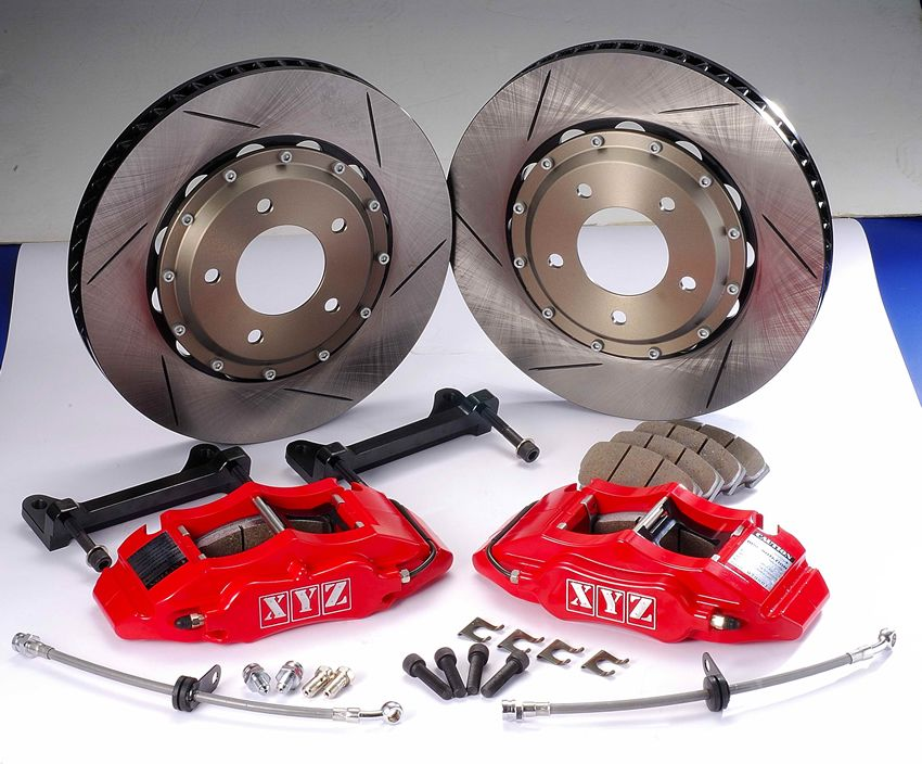 Přední brzdový kit XYZ Racing SPORT 286 AUDI A4 B8 (2WD) 08-UP
