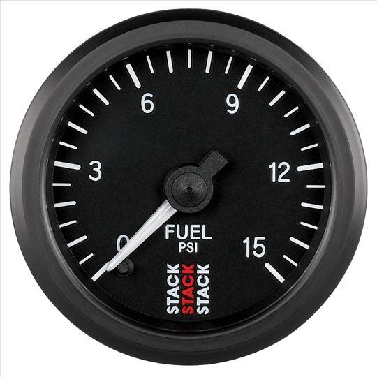 Přídavný budík Stack ST3304 52mm tlak paliva - psi