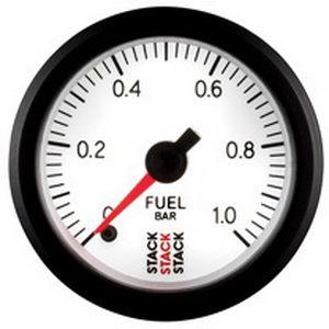 Přídavný budík Stack ST3353 52mm tlak paliva - bar