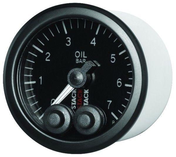 Přídavný budík Stack ST3505 52mm tlak paliva - bar