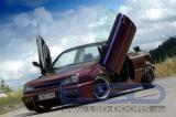 Vertikální otevírání dveří LSD VW Golf 3 typ 1E Cabrio (09/91-)