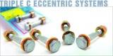 Šrouby na štelování odklonu kol H&R Triple C průměr 12mm / délka 40,0-48,5mm