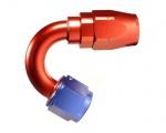"""Fitinka koleno 150° D-06 (AN6) 9/16""""x18-UNF - cutter-system - šroubovací"""