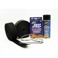 Termo izolační kit na výfuk Thermotec (2x černá páska 50mm x 15m, sprej, stahovačky) - V6/V8