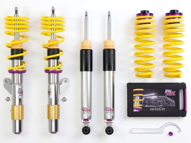 KW Automotive Sportovní podvozek KW V2 Inox HONDA Civic, CRX (MA8,MA9,MB1,MB2,MB3,MB4,MB6,MB7,