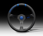 Volant Momo Drifting Evo 330mm modrý