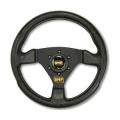 Volant OMP Trecento 300mm - černý/černý
