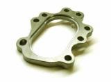 Příruba na výfukovou část T25/T28 (ocel) - 8 děr