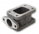 Redukční adaptér na turbo T3 > T3 + wastegate 38mm (ocel)