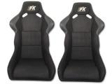 Sportovní sedačky FK Automotive Evolution black