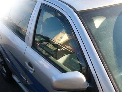 Deflektory-ofuky oken Suzuki SX4 htb. HDT