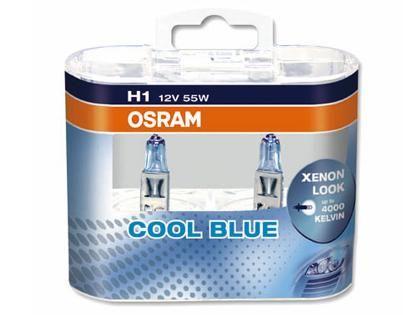 Autožárovky Osram Cool Blue Intense H1 55W