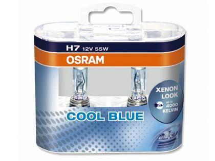 Autožárovky Osram Cool Blue Intense H7 55W