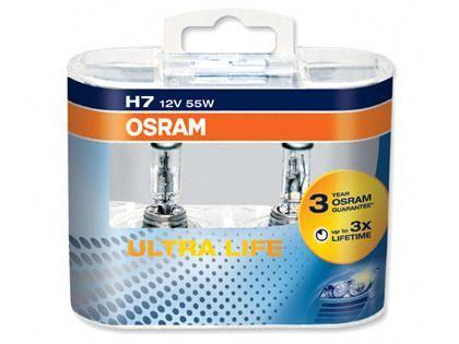 Autožárovky Osram Ultralife H7 55W